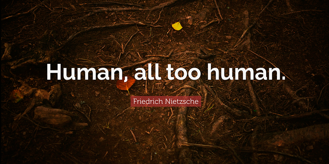 Nietzsche Human, all too human Filozofie