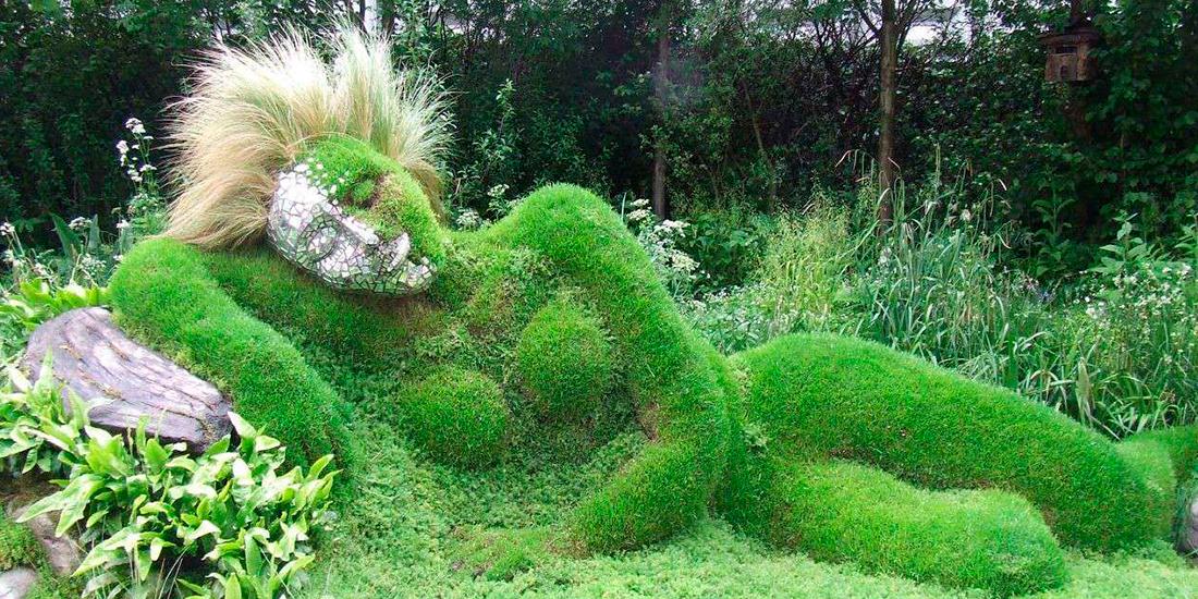 Sculpturi din plante - noua selectii