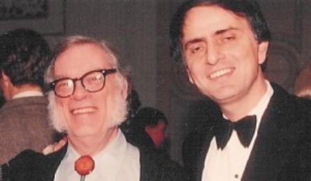 Isaac Asimov si Carl Sagan