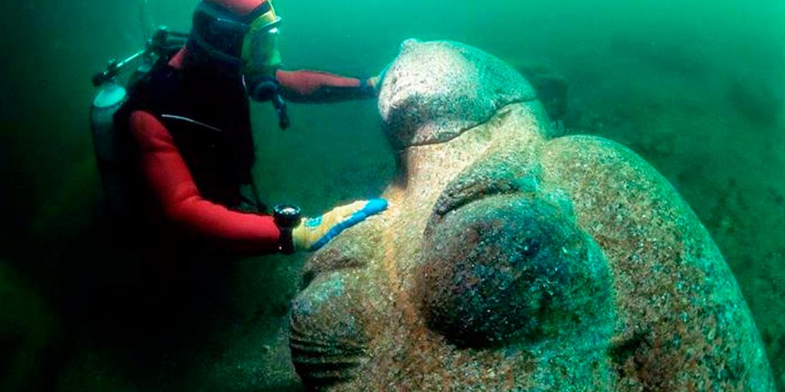 Oras antic egiptean vechi de 1200 de ani, descoperit in Mediterana