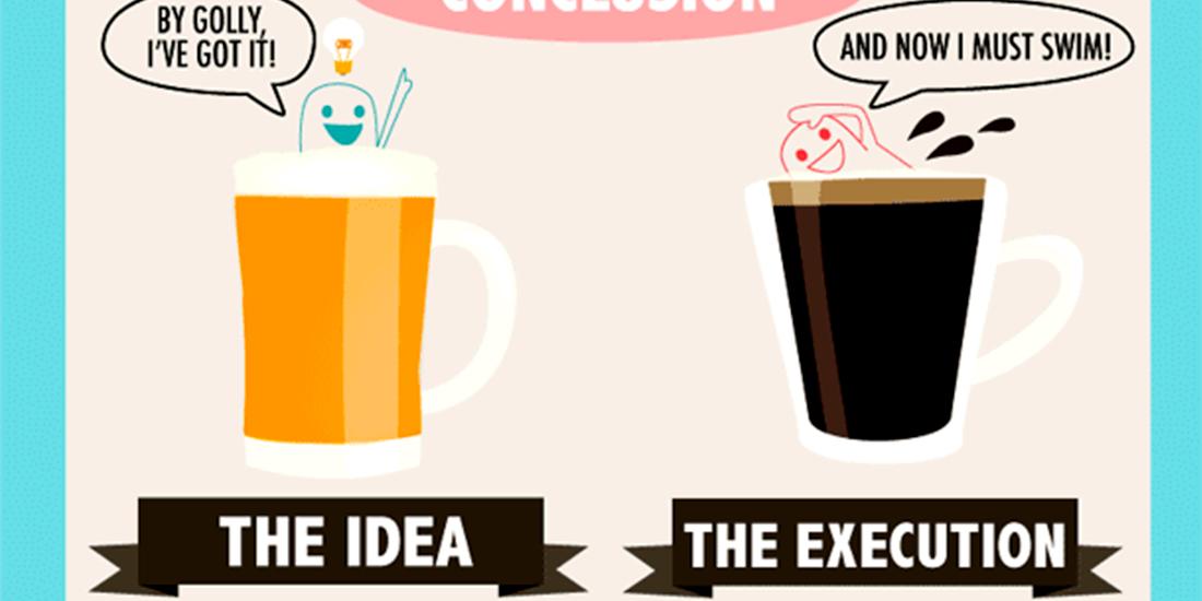 Cafea sau bere - energie vs creativitate