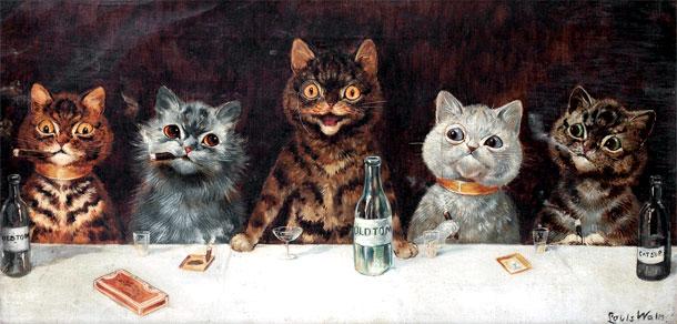 iubitor de pisici schizofrenic