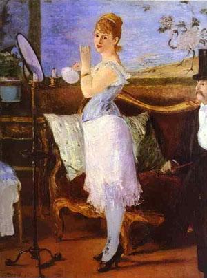 Manet – Nana (1877), Guggenheim Museum