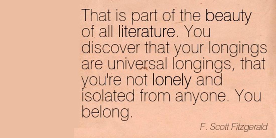 Despre ce scriu romancierii. Literatura universale