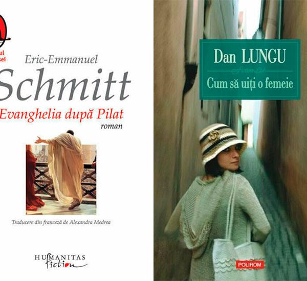 Schmitt vs Lungu. Evanghelia dupa Pilat vs Cum sa uiti o femeie