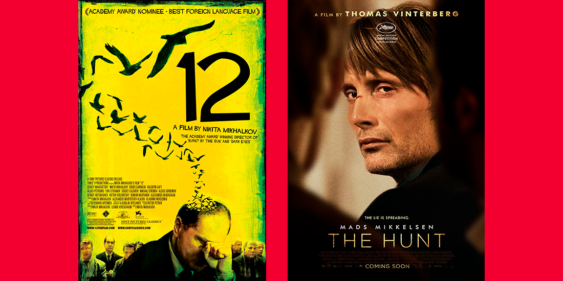 Jagten versus 12 Angry Men – cronica de film