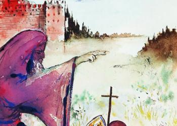 Ilustratiile lui Salvador Dali pentru Romeo si Julieta