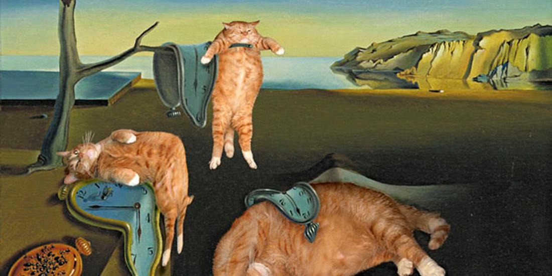 Pisica unei rusoaice, subiect in picturi celebre