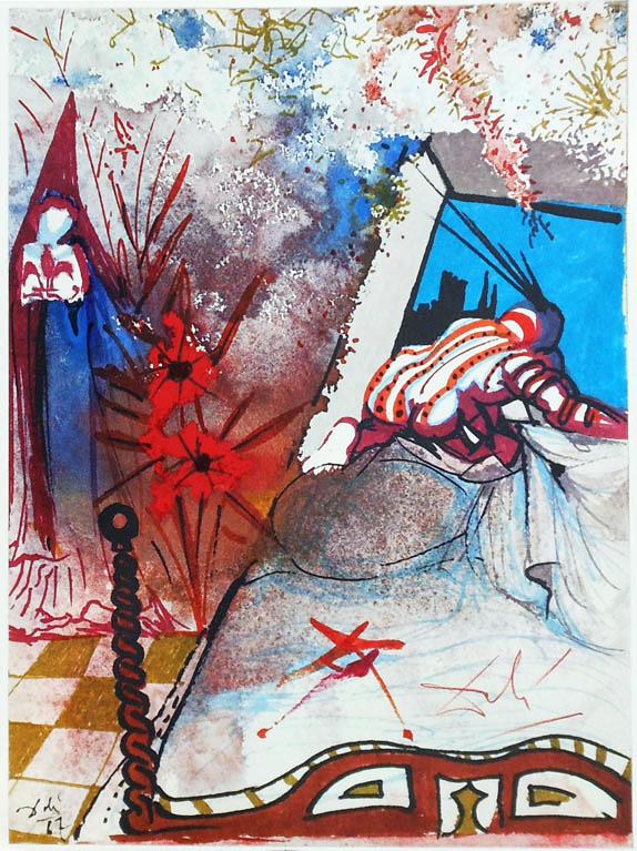 Salvador Dali - Romeo si Julieta