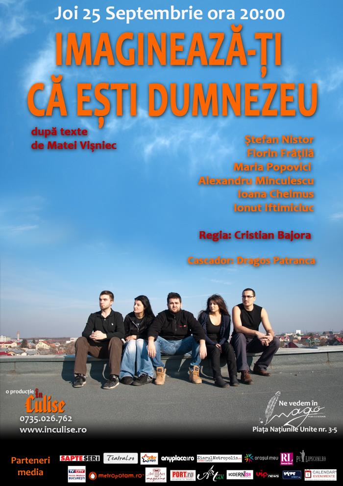 Bucharest Comedy Week - Imagineaza-ti ca esti Dumnezeu