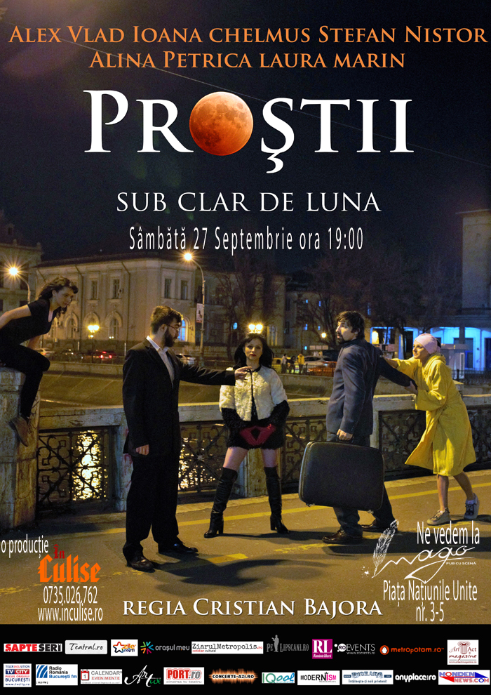 Bucharest Comedy Week - Prostii sub clar de luna