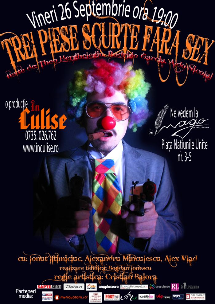 Bucharest Comedy Week - Trei Piese Scurte Fara Sex