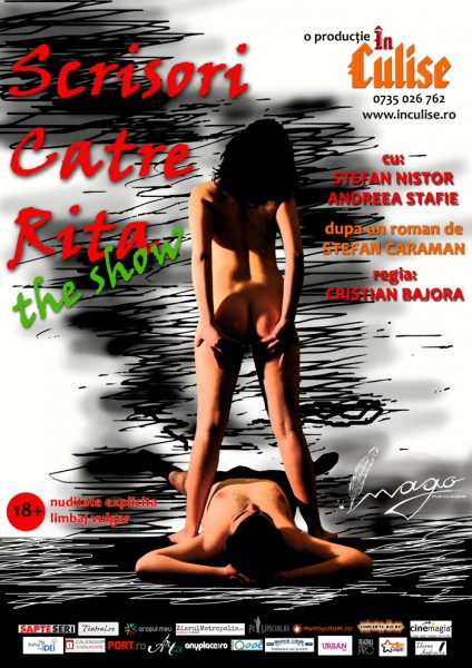 Scrisori catre Rita – THE SHOW – comedie erotica (18+) @ Imago Pub