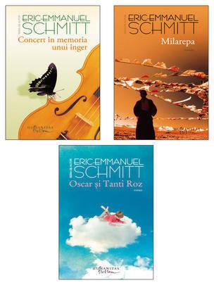 pachet trilogie Eric-Emmanuel Schmitt