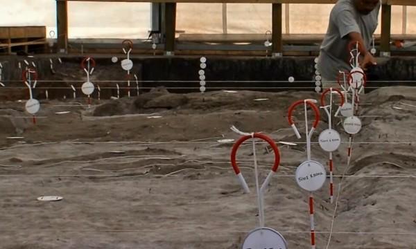Semne ale prezentei umane acum 14 000 de ani in Vero,