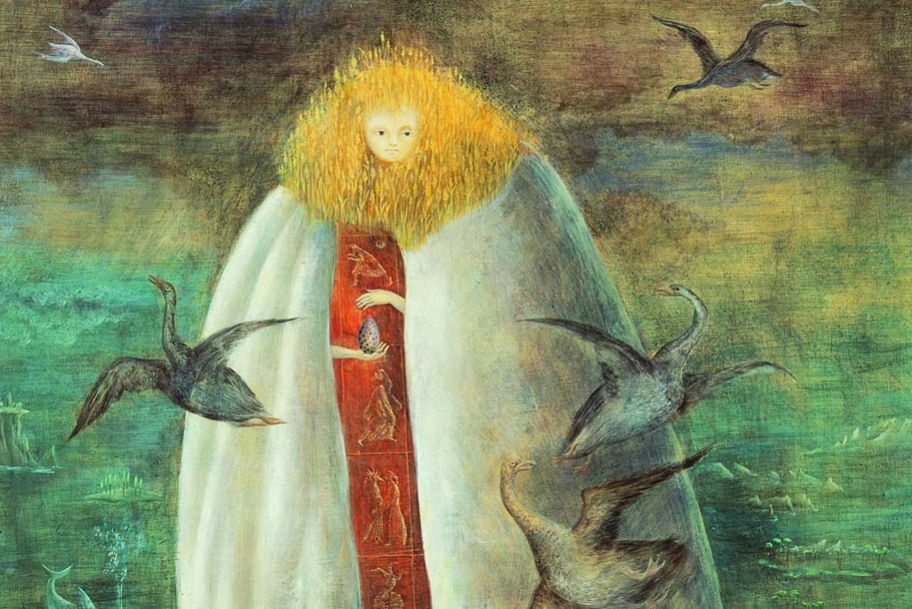 The Giantess (The Guardian of the Egg), 1947, Leonora Carrington, colectie privata, Mexico