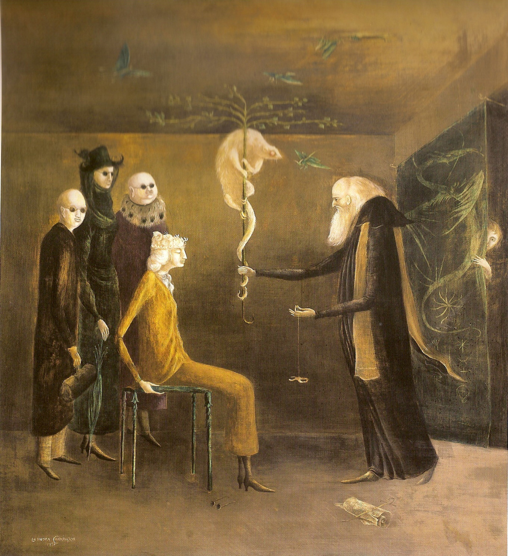 Syssigy, Leonora Carrington, 1957