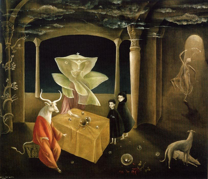 And Then We Saw the Daughter of the Minotaur, Leonora Carrington , 1953