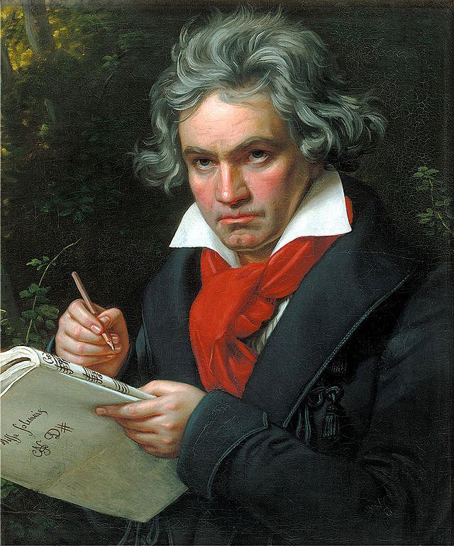 artisti cu dizabilitati - Beethoven