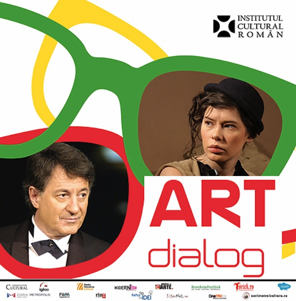 "O noua intalnire din seria ""ArtDialog"". Ion Caramitru si Crina Semciuc la Institutul Cultural Roman"