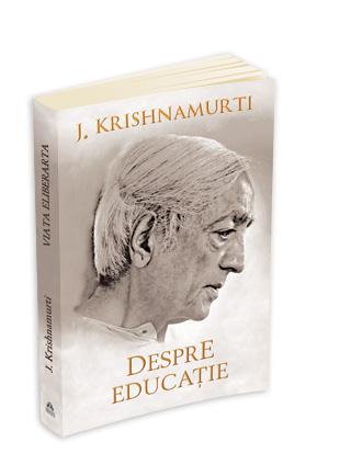 Despre educatie - Jiddu Krishnamurti - recenzie de carte