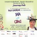 Actorul Radu Gheorghe si invitatii participa la lansarea cartii si audiobook-ului Tata este gras, de Jim Gaffigan