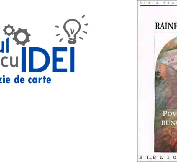 Povestiri despre Bunul Dumnezeu, de Rainer Maria Rilke. Recenzie de carte