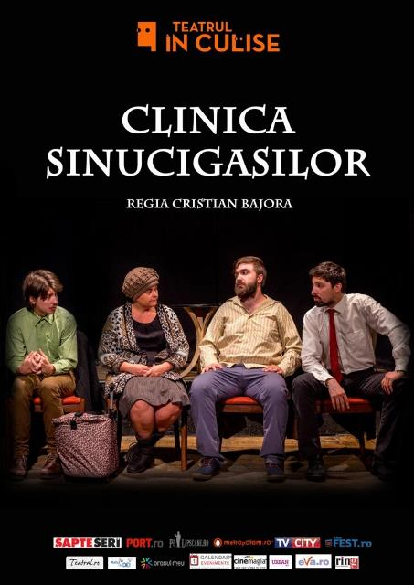 clinica sinucigasilor teatrul in culise