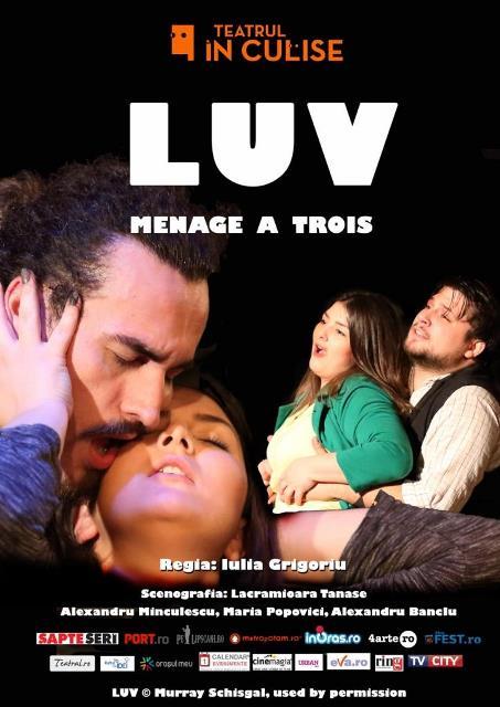 Luv spectacol teatru In Culise