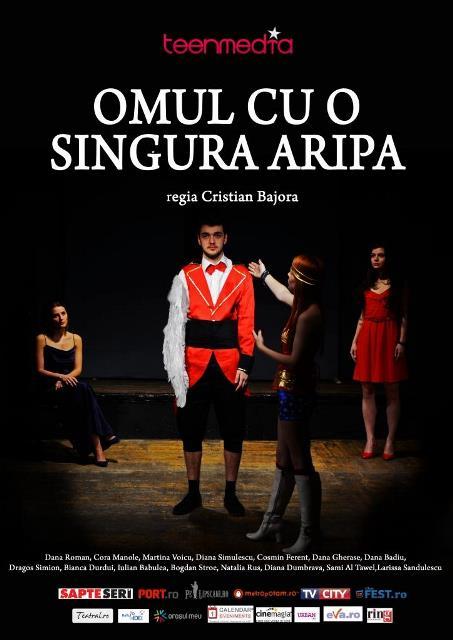 Omul cu o singura aripa - spectacol teatru In culise