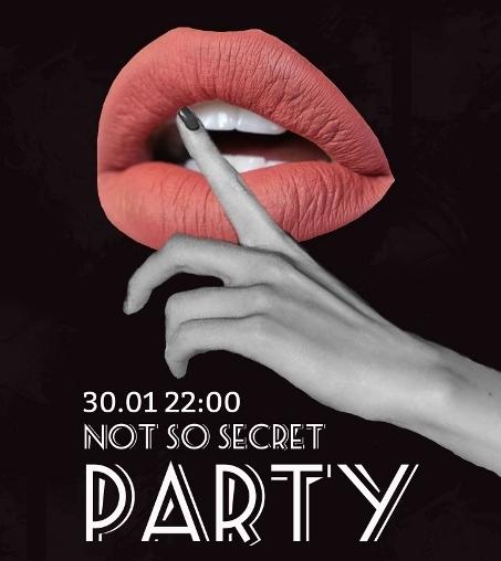 not so secret party petecere La Scena