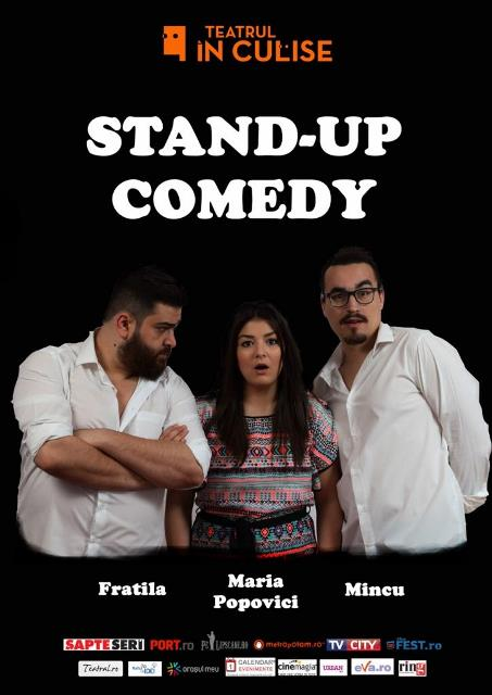 Stand up comedy teatrul in culise