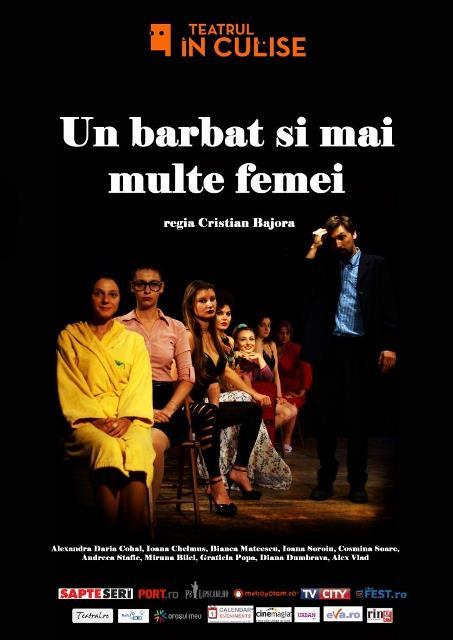 Un barbat si mai multe femei teatrul in culise
