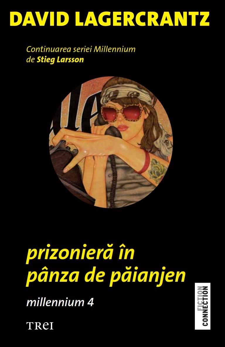 Prizoniera in panza de paianjen, David Lagercrantz - recenzie de carte