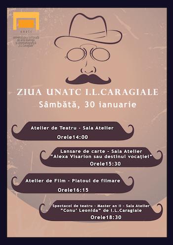 """30 ianuarie - Ziua UNATC """"I. L. Caragiale"""""""