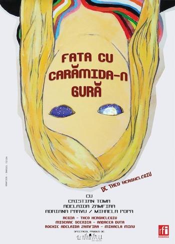FATA CU CARAMIDA-N GURA