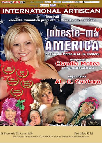 Iubeste-ma? AMERICA! de Claudia Motea & AL. G. Croitoru