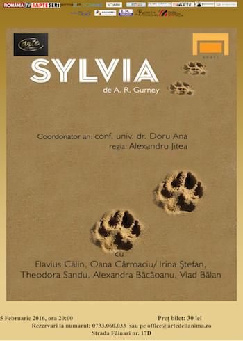 Spectacolul Sylvia la teatrul Arte dell Anima