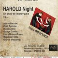 Harold Night la teatrul Arte dell' Anima
