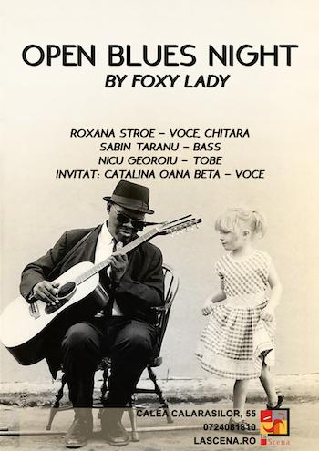La Scena - OPEN BLUES NIGHT by Foxy Lady