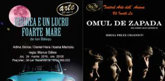 Spectacole Teatrul Arte dell' Anima 24-26 martie