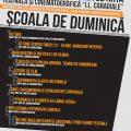 """Scoala de Duminica 2016 - UNATC """"I.L. Caragiale"""""""