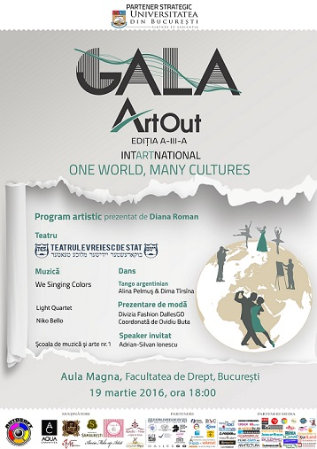 Gala Art Out 2016 - One world, many cultures