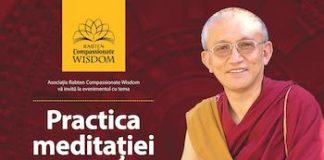 Maestrul Gonsar Tulku Rinpoche revine la Bucuresti in perioada 15 – 17 aprilie 2016
