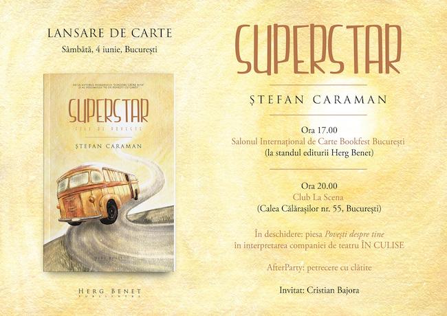 LANSARE DE CARTE – SUPERSTAR de STEFAN CARAMAN