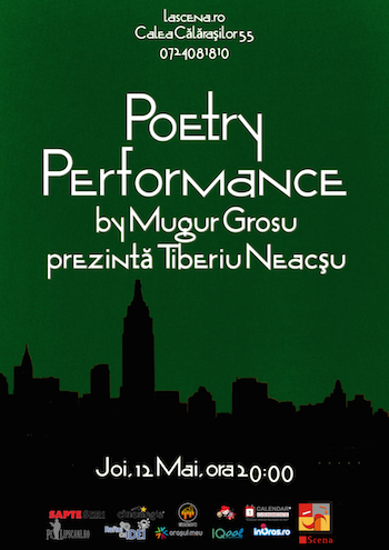Poetry Performance by Mugur Grosu