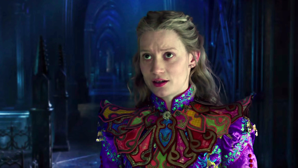 Alice through the looking glass cronica de film