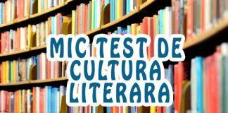 test de cultura literara