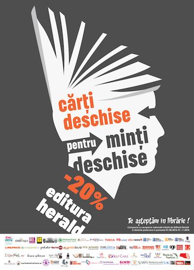 Carti deschise pentru minti deschise!