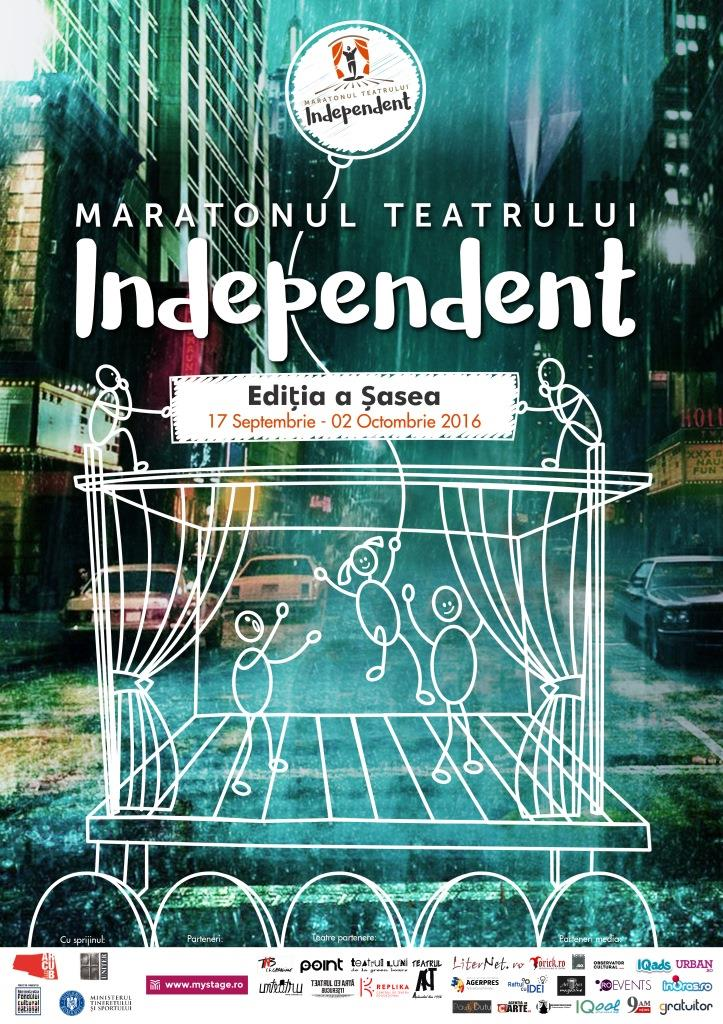 Maratonul Teatrului Independent